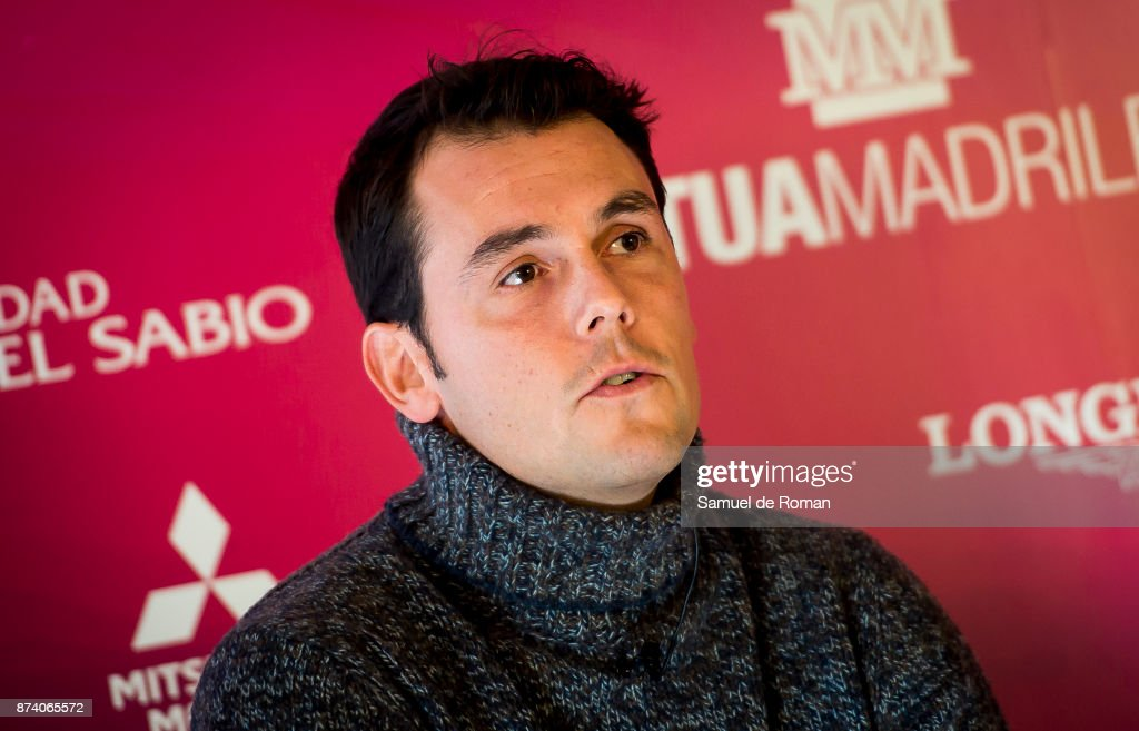 Sergio Alvarez Moya during Madrid Horse Week 2017 Presentation on November 14, 2017 in Madrid, Spain.