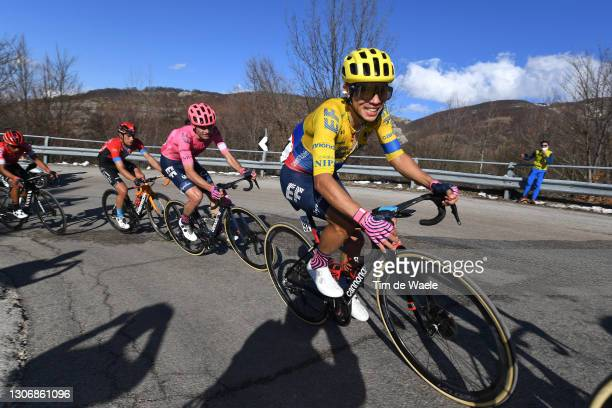 Sergio Andres Higuita Garcia of Colombia and Team EF Education - Nippo during the 56th Tirreno-Adriatico 2021, Stage 4 a 148km stage from Terni to...