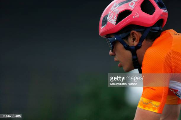 Sergio Andres Higuita Garcia of Colombia and Team EF Pro Cycling Orange Leader Jersey / during the 3rd Tour of Colombia 2020, Stage 6 a 182,6km stage...