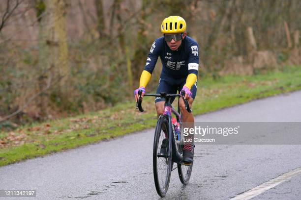 Sergio Andres Higuita of Colombia and Team Ef Education First / during the 78th Paris - Nice 2020, Stage 2 a 166,5km stage from Chevreuse to...