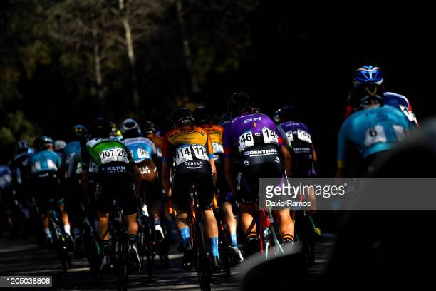 Sergio Araiz of Spain and Team Equipo Kern Pharma / Lawrence Naesen of Belgium and Team Ag2R La Mondiale / Matej Mohoric of Slovenia and Team...