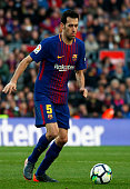 sergio busquets during match between fc