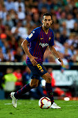 sergio busquets action during week la