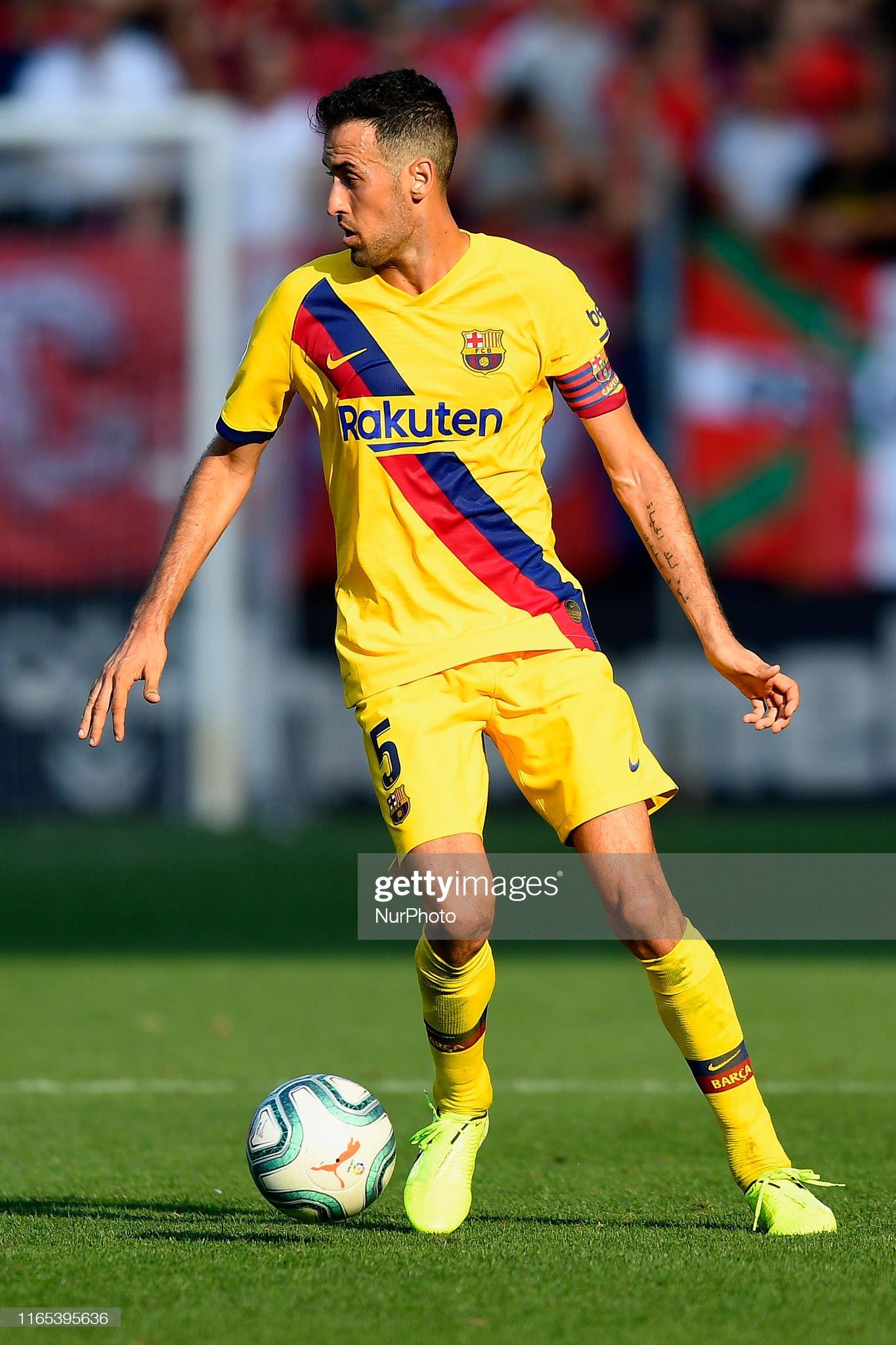 صور مباراة : أوساسونا - برشلونة 2-2 ( 31-08-2019 )  Sergio-busquets-of-barcelona-in-action-during-the-liga-match-between-picture-id1165395636?s=2048x2048
