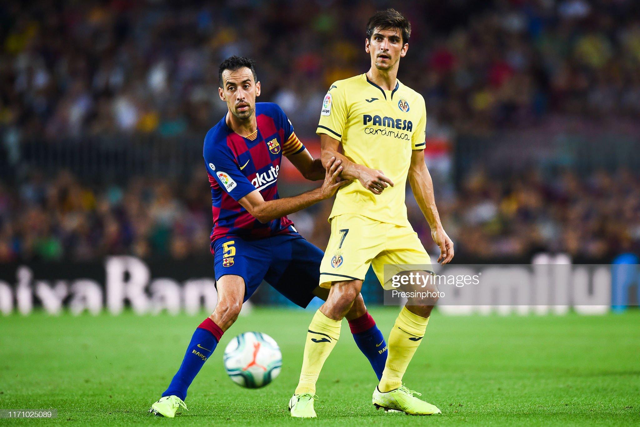 صور مباراة : برشلونة - فياريال 2-1 ( 24-09-2019 )  Sergio-busquets-of-fc-barcelona-and-gerard-moreno-of-villarreal-cf-picture-id1171025089?s=2048x2048