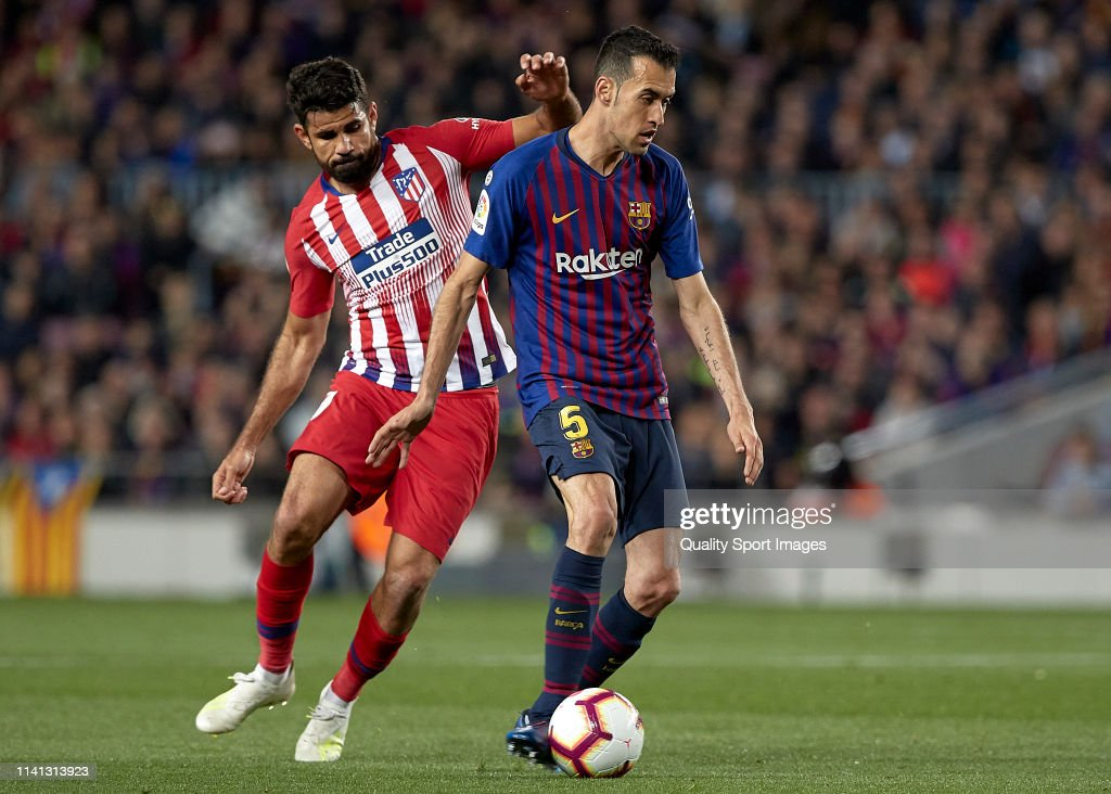 FC Barcelona v  Club Atletico de Madrid - La Liga : News Photo