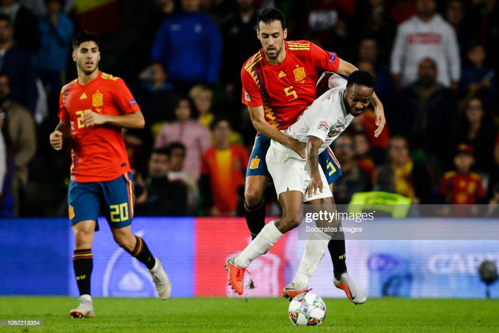 Spain  v England  -UEFA Nations league : ニュース写真