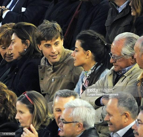 Sergio Canales attends Fallas Bullfighting Festival on March 19 2012 in Valencia Spain