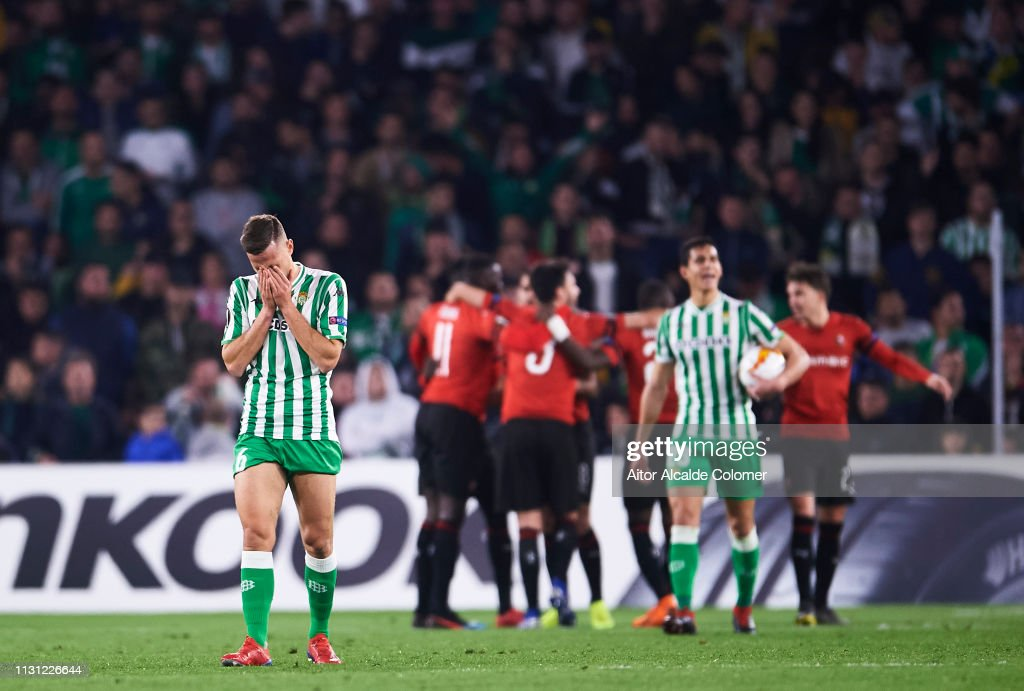 Real Betis v Stade Rennais - UEFA Europa League Round of 32: Second Leg : News Photo