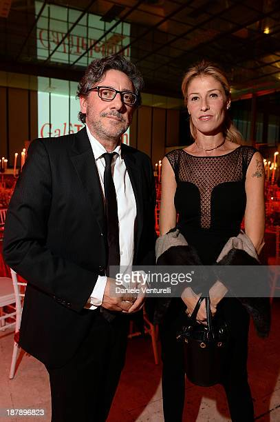 Sergio Castellitto and Ludovica Andreoni attend the Gala Telethon 2013 Roma during The 8th Rome Film Festival on November 13 2013 in Rome Italy