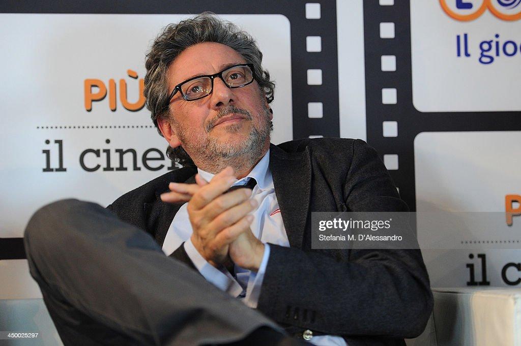 Sergio Castellitto attends the Casting Awards Ceremony during the 8th Rome Film Festival at the Auditorium Parco Della Musica on November 16, 2013 in Rome, Italy.