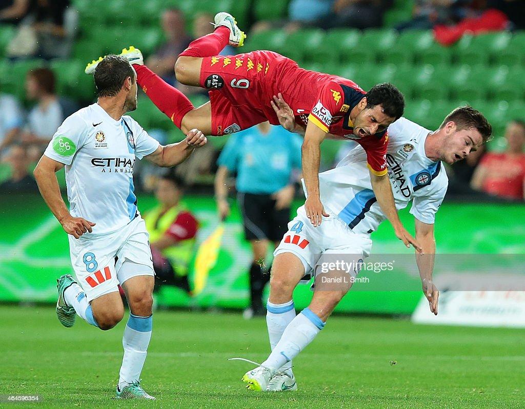A-League Rd 19 - Melbourne v Adelaide