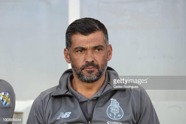Sergio Conceicao Head Coach of FC Porto during the match between FC Porto v Everton FC for Algarve Football Cup 2018 at Estadio do Algarve on July...