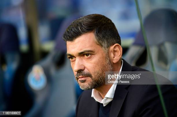 Sergio Conceicao, Head Coach of Porto during the UEFA Europa League group G match between FC Porto and Rangers FC at Estadio do Dragao on October 24,...