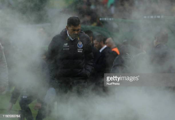 Sergio Conceicao of FC Porto during the Premier League 2019/20 match between Sporting CP and FC Porto, at Alvalade Stadium in Lisbon on January 05,...
