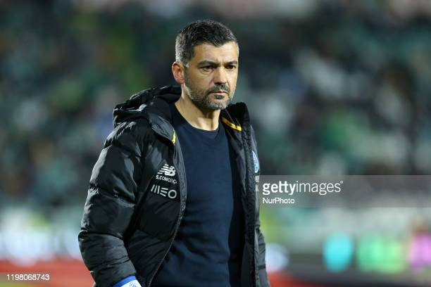 Sergio Conceicao of FC Porto during the Premier League 2019/20 match between Vitoria FC and FC Porto, at Bonfim Stadium in Setubal on Frebuary 1,...