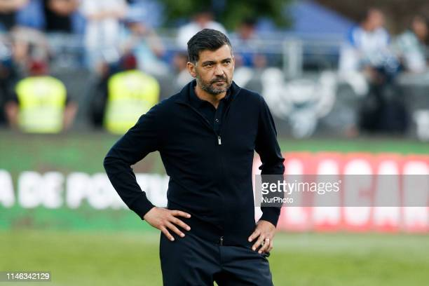 Sergio Conceicao of Porto after the Portugal Cup Final football match between Sporting CP and FC Porto at Jamor stadium in Oeiras, outskirts of...