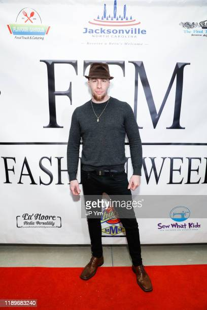 Sergio Delavicci attends FTM Fashion Week S7 at Sturgeon City on November 23 2019 in Jacksonville North Carolina