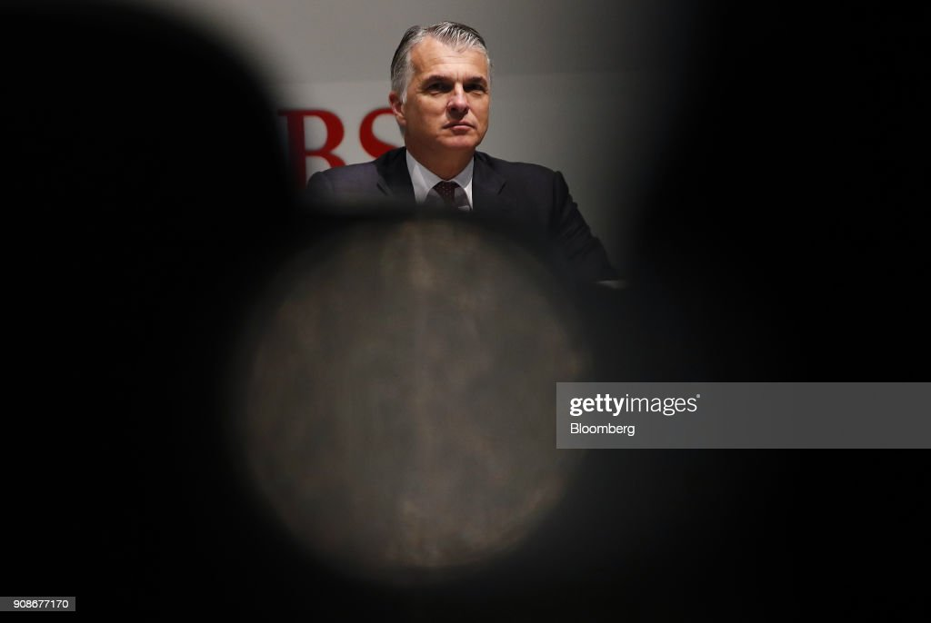 UBS Group AG Chief Executive Officer Sergio Ermotti Presents Full Year Earnings