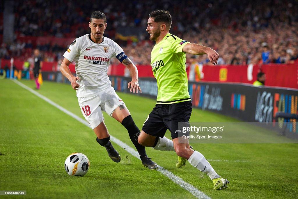 Sevilla FC v F91 Dudelange: Group A - UEFA Europa League : News Photo