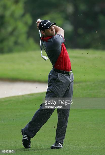 Sergio Garcia of Spain during the second round of the St. Jude Classic at TPC Southwind held on June 12, 2009 in Memphis, Tennessee.