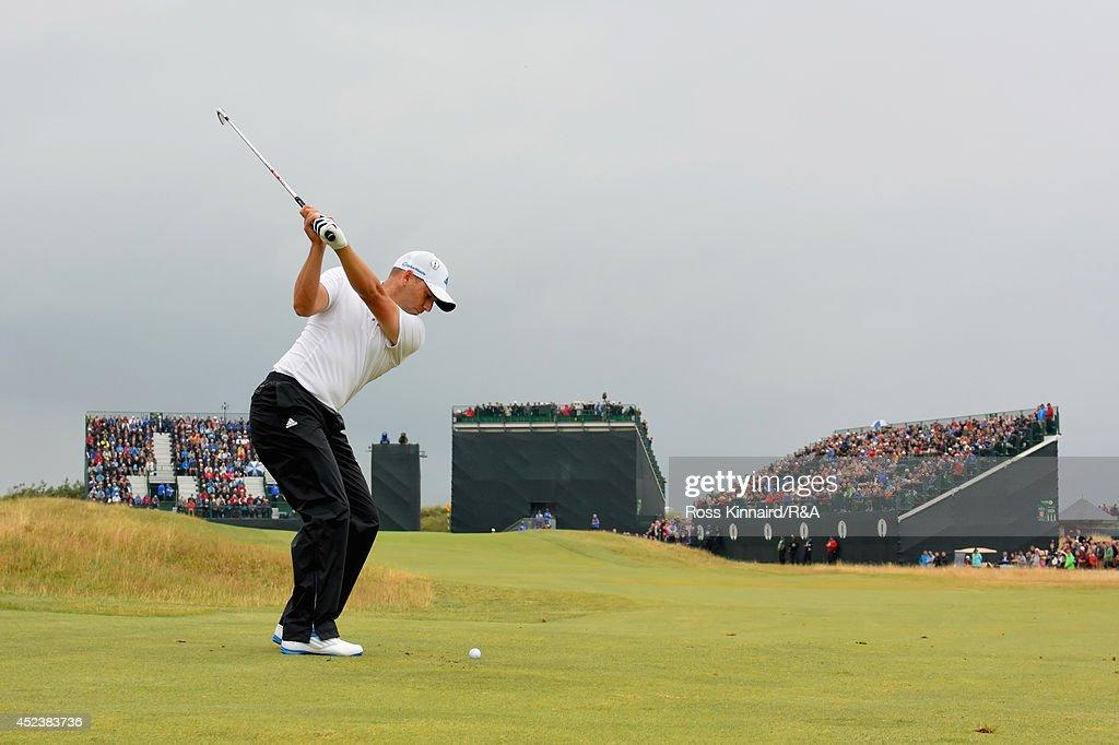 143rd Open Championship - Round Three : News Photo