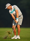 monza italy sergio garcia spain plays