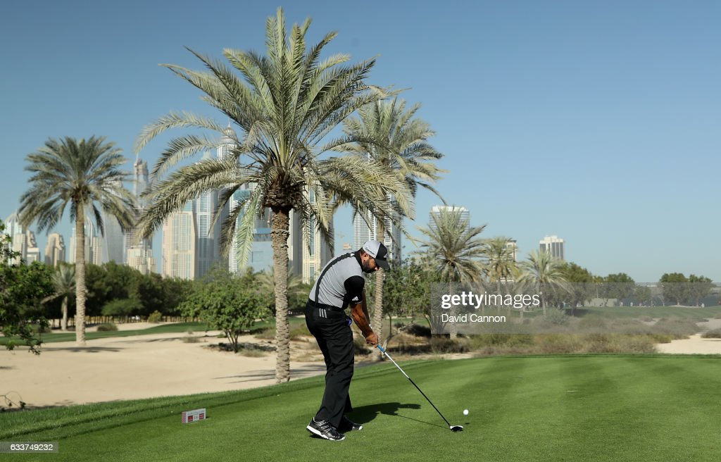 Omega Dubai Desert Classic - Day Three : News Photo