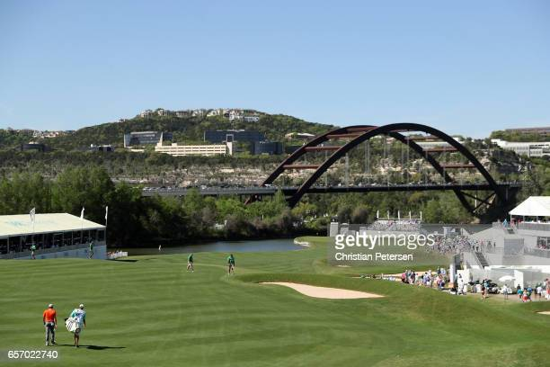 Sergio Garcia of Spain walks on the 12th hole of his match during round two of the World Golf Championships-Dell Technologies Match Play at the...