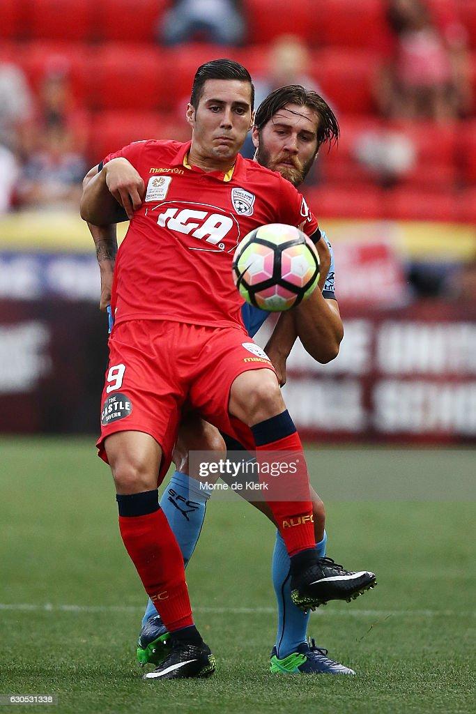 A-League Rd 12 - Adelaide v Sydney