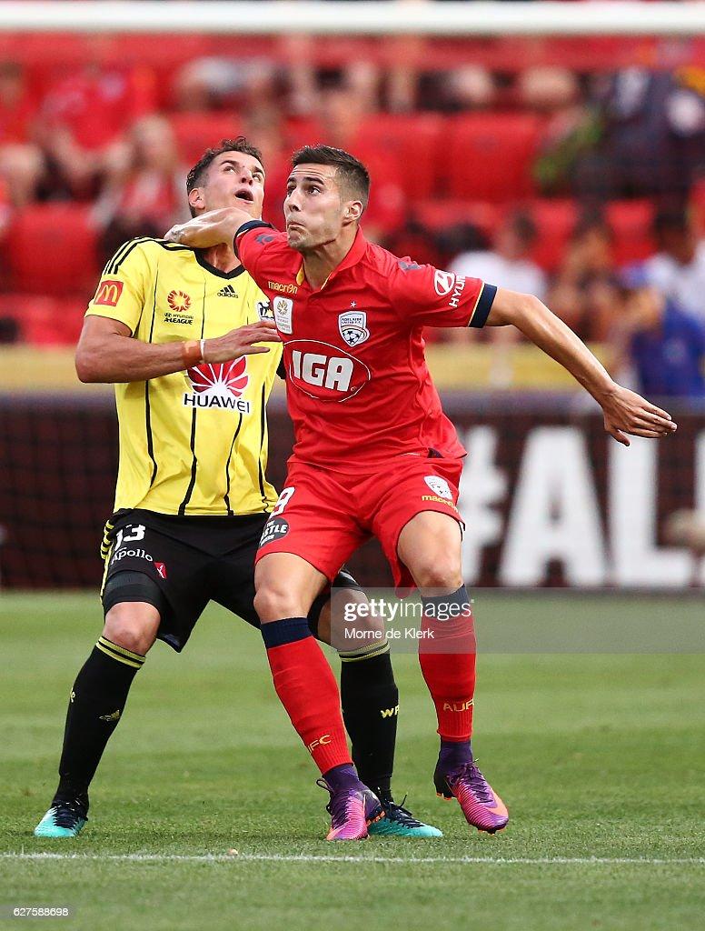 A-League Rd 9 - Adelaide v Wellington