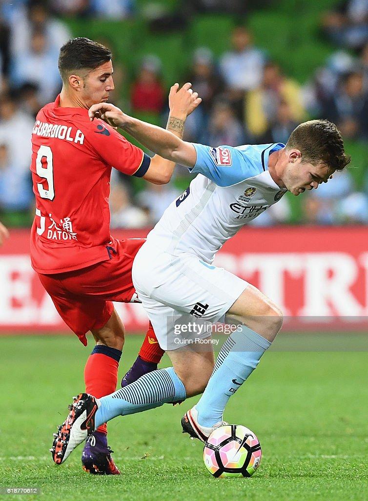 A-League Rd 4 - Melbourne City v Adelaide