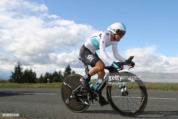 Sergio Henao of Colombia and Team Sky during the 76th Paris Nice 2018 / Stage 4 an Individual Time Trial of 184km from La Fouillouse to SaintEtienne...