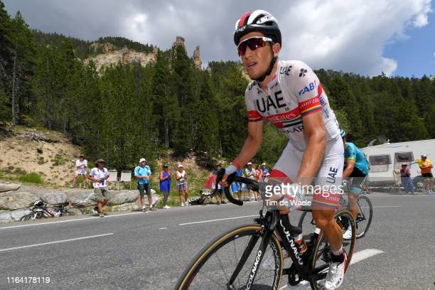 Sergio Henao of Colombia and UAE Team Emirates / during the 106th Tour de France 2019 Stage 18 a 208km stage from Embrun to Valloire 1419m / TDF /...