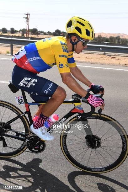 Sergio Higuita Garcia of Colombia and Team EF Education-Nippo during the 3rd UAE Tour 2021, Stage 3 a 166km stage from Al Ain - Strata Manufacturing...
