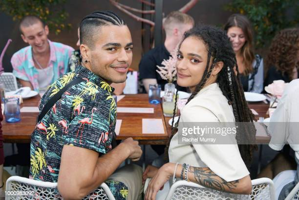 Sasha Lane attends the A/W'18 UGG Collective Global Campaign Launch hosted by Sasha Lane at Rose Cafe on July 17 2018 in Venice California