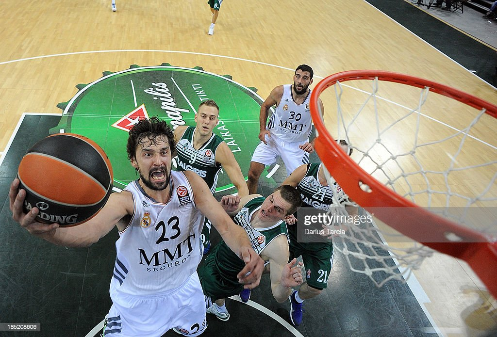 Zalgiris Kaunas v Real Madrid - Turkish Airlines Euroleague