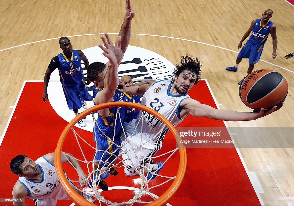 Real Madrid v Maccabi Electra Tel Aviv - Turkish Airlines Euroleague Play Off