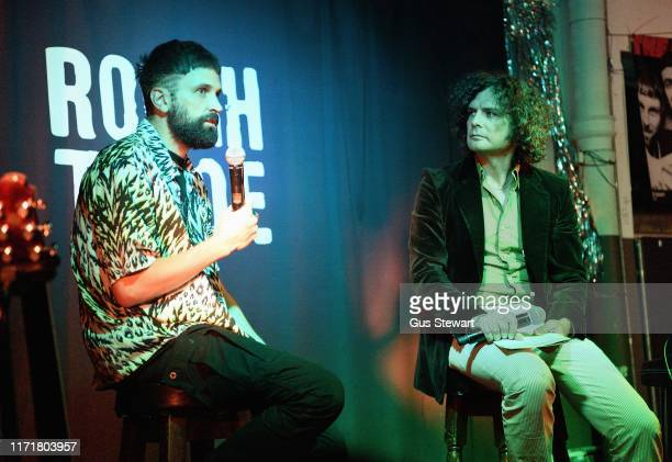 Sergio Lorenzo Pizzorno is interviewed about his solo album The SLP at Rough Trade East on September 02 2019 in London England