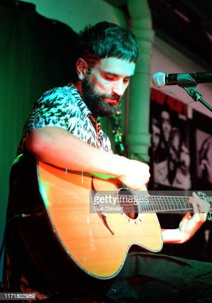 Sergio Lorenzo Pizzorno performs songs from his solo album The SLP at Rough Trade East on September 02 2019 in London England