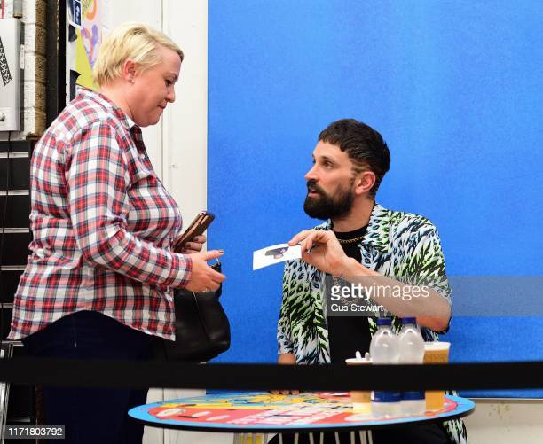 Sergio Lorenzo Pizzorno signs copies of his solo album The SLP at Rough Trade East on September 02 2019 in London England