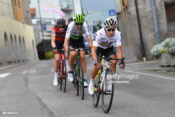 Sergio Luis Henao Montoya of Colombia and Team Sky / Christian Knees of Germany and Team Sky / during the 101st Tour of Italy 2018 Stage 17 a 155km...
