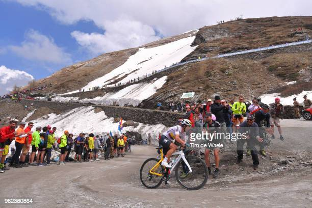 Sergio Luis Henao Montoya of Colombia and Team Sky / Colle Delle Finestre / during the 101st Tour of Italy 2018 Stage 19 a 185km stage from Venaria...