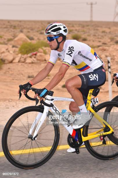 Sergio Luis Henao Montoya of Colombia and Team Sky / during the 101th Tour of Italy 2018 Stage 3 a 229km stage from Be'er Sheva to Eilat / Giro...