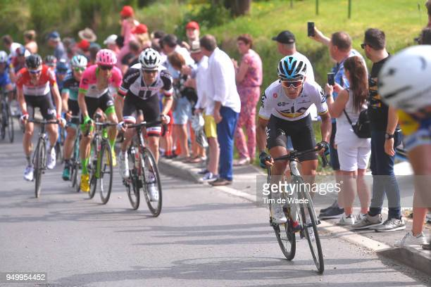 Sergio Luis Henao Montoya of Colombia and Team Sky / during the104th LiegeBastogneLiege 2018 a 2585km race from Liege to LiegeAns on April 22 2018 in...