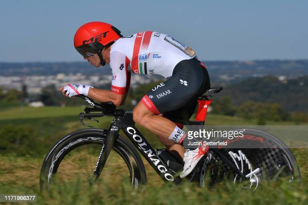 Sergio Luis Henao Montoya of Colombia and UAE Team Emirates / during the 74th Tour of Spain 2019, Stage 10 a 36,2 Individual Time Trial stage from...