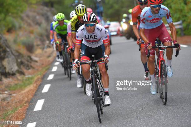 Sergio Luis Henao Montoya of Colombia and UAE Team Emirates / during the 74th Tour of Spain 2019 - Stage 20 a 190.4km stage from Arenas de San Pedro...