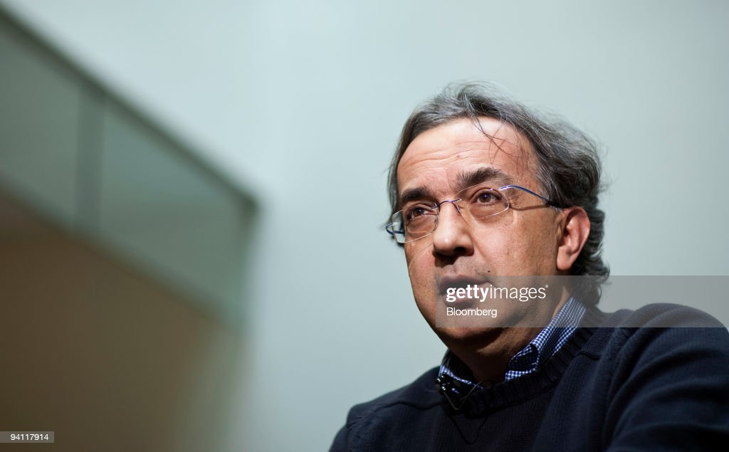 Fiat-Chrysler CEO Sergio Marchionne Speaks On Future Of Auto Industry