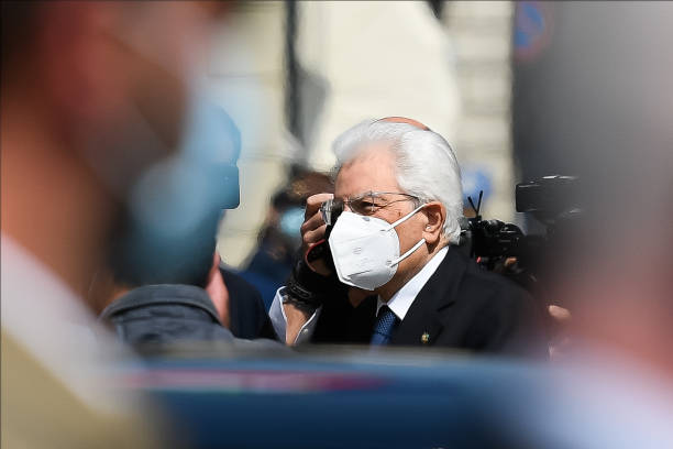ITA: President Of The Republic Sergio Mattarella Visits Codogno For Republic Day