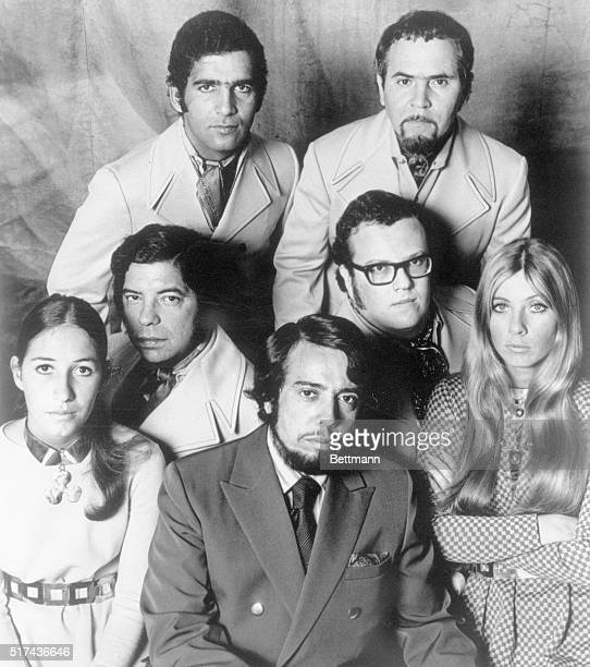 Sergio Mendes Brasil '66 Top row left to right Laudir DeOliveira Sebastiao Neto Rubens Bassini Claudio Slon Lani Hall Sergio Mendez Karen Philipp
